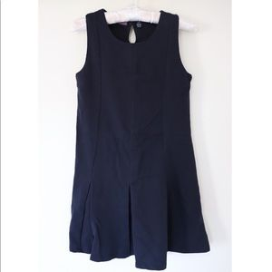 Girls' Nautica Navy Blue Mini Dress